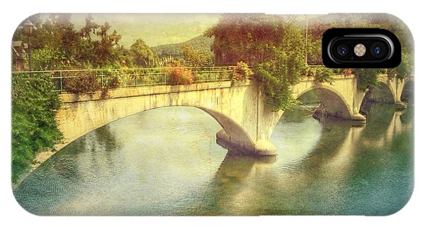 Bridge Of Flowers  IPhone Case