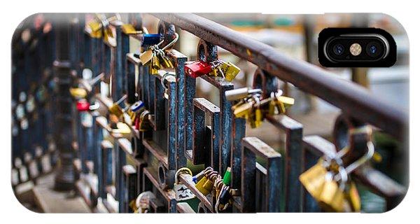 Bridge Of Love Venice Phone Case by Ken Andersen
