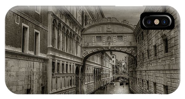 IPhone Case featuring the photograph Bridge Of Sighs by Michael Kirk