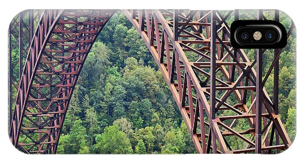 IPhone Case featuring the photograph Bridge Of Trees by Rick Locke
