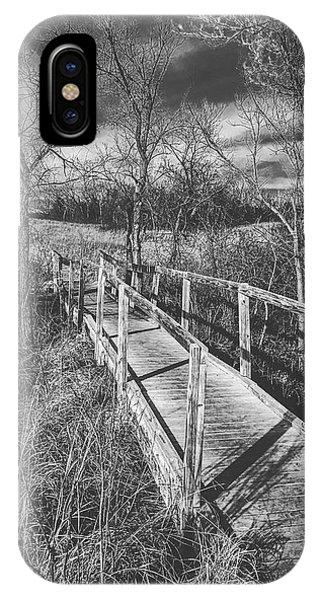 Bridge On The Prairie IPhone Case