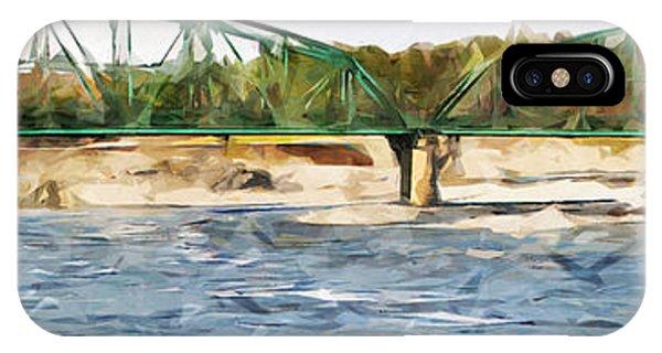 Bridge Over Androscoggin River IPhone Case