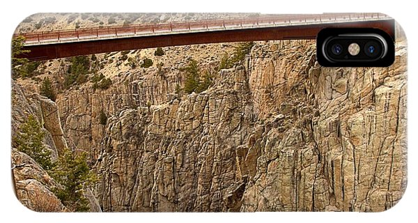 Bridge Over Canyon IPhone Case