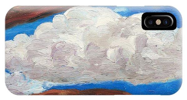 Bridge Over Clouds IPhone Case