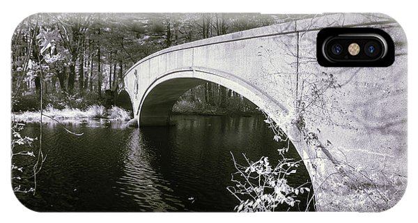IPhone Case featuring the photograph Bridge Over Infrared Waters by Brian Hale