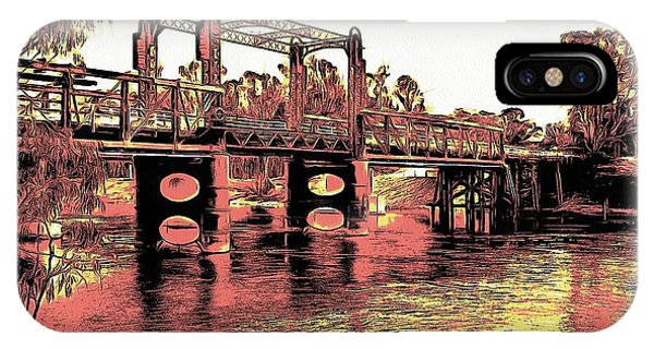 Bridge Over Murray River IPhone Case