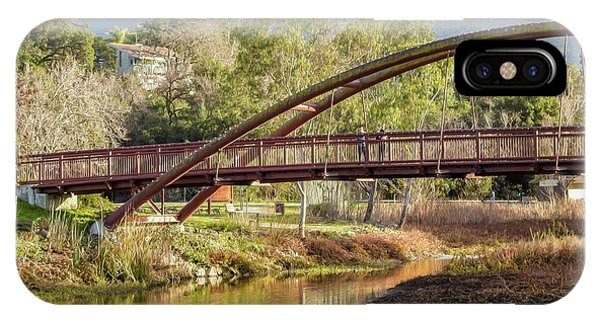 Bridge Over The Creek IPhone Case