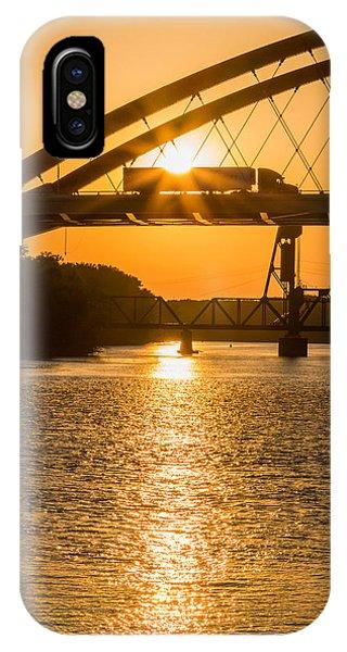 Bridge Sunrise #2 IPhone Case