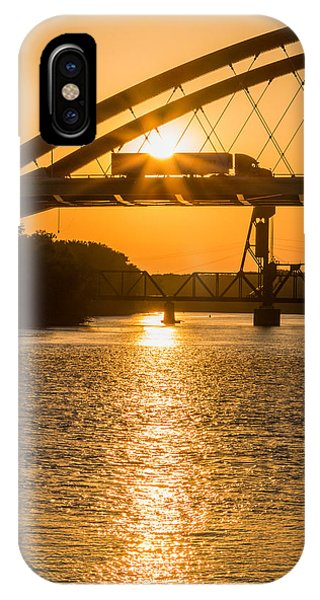 Bridge Sunrise 2 IPhone Case