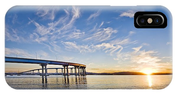 Bridge Sunrise IPhone Case