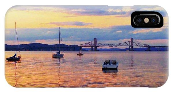 Bridge Sunset IPhone Case