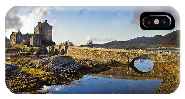 Bridge To Eilean Donan IPhone Case