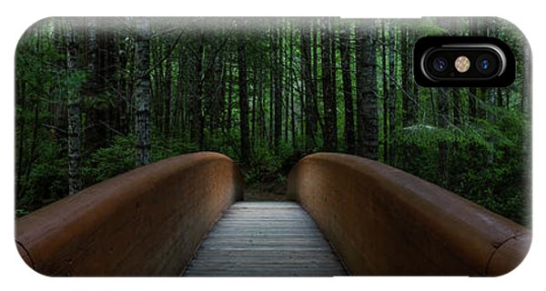 IPhone Case featuring the photograph Bridge To Serenity  by Dustin LeFevre