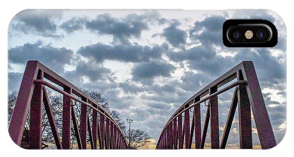 Bridge To The Clouds IPhone Case