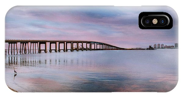 Bridge Under The Sunset IPhone Case