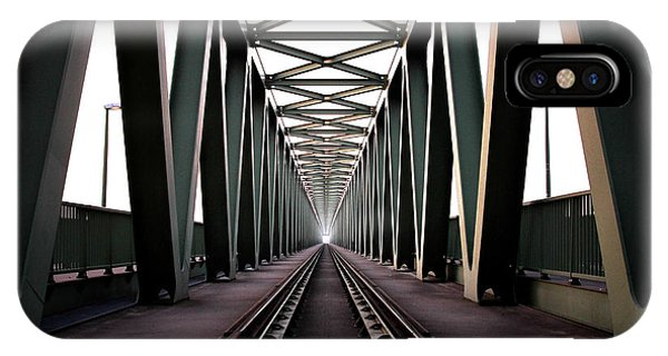 Metal iPhone Case - Bridge by Zoltan Toth