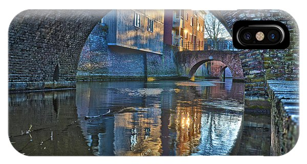 Bridges Across Binnendieze In Den Bosch IPhone Case