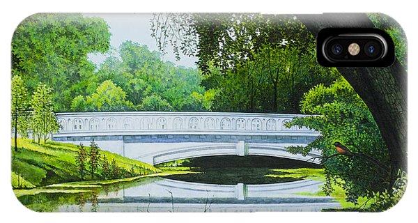 Bridges Of Forest Park IIi IPhone Case