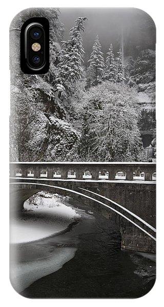 Bridges Of Multnomah Falls IPhone Case