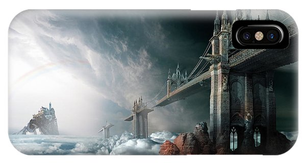 Imagery iPhone Case - Bridges To The Neverland by George Grie