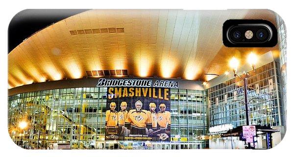 Bridgestone Arena IPhone Case