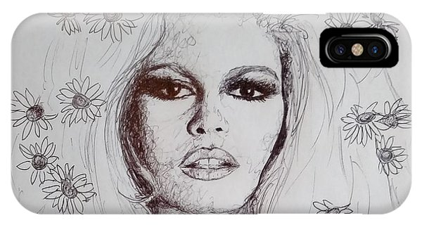 Bridget Bardot IPhone Case