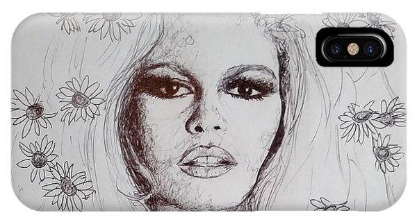 Bridget Bardot IPhone Case
