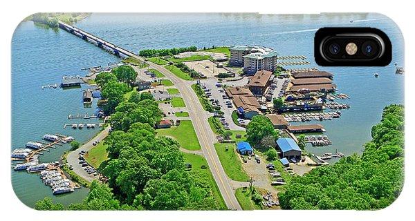 Bridgewater Plaza Aerial IPhone Case