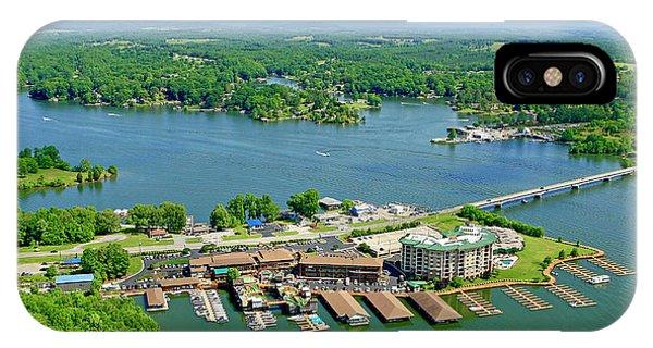 Bridgewater Plaza, Smith Mountain Lake, Virginia IPhone Case