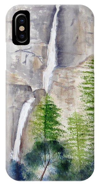 Bridal Veil Waterfall IPhone Case