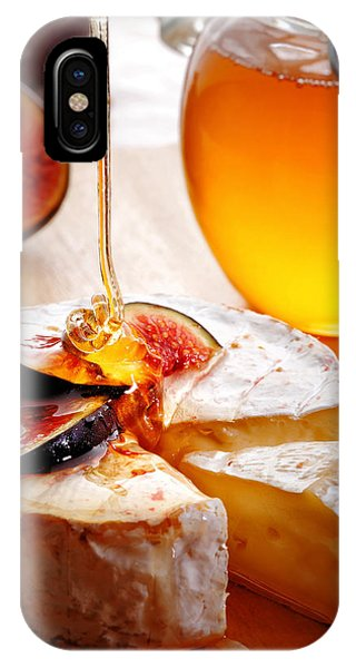 Dessert iPhone Case - Brie Cheese With Figs And Honey by Johan Swanepoel