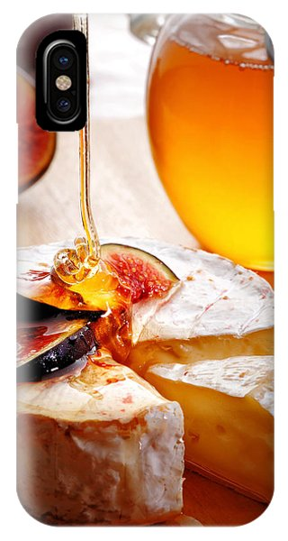 Brie Cheese With Figs And Honey IPhone Case