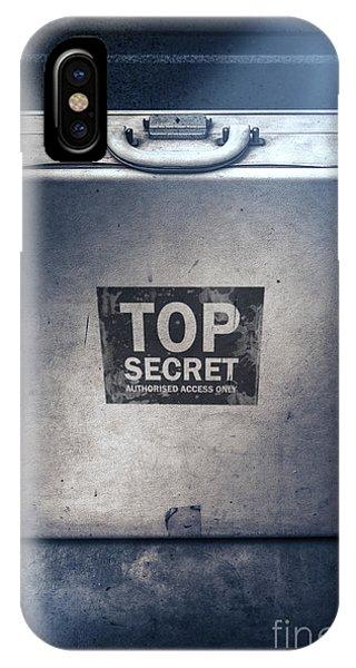 Brief Case Of Top Secret Espionage IPhone Case