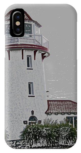 Brigantine Lighthouse IPhone Case