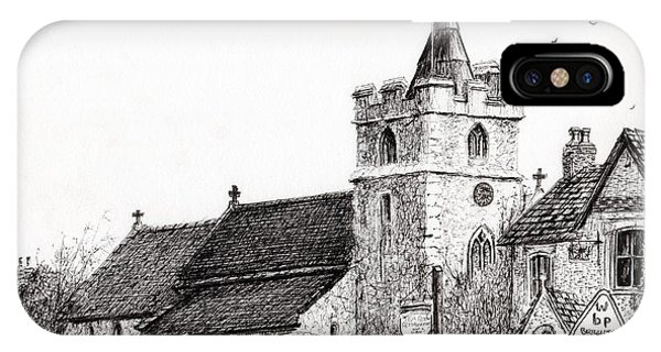 Brighstone Church IPhone Case