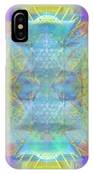 Bright Chalice Ancient Symbol Tapestry IPhone Case