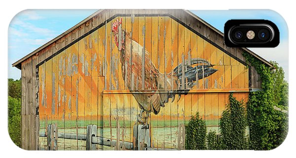 Bright Rooster Barn IPhone Case