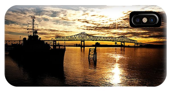 Baton Rouge iPhone Case - Bright Time On The River by Scott Pellegrin
