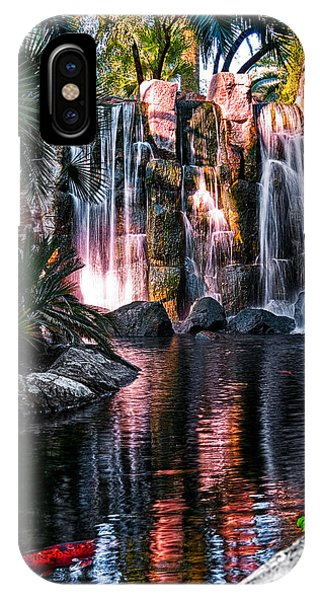 Bright Waterfalls IPhone Case