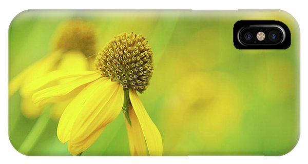 Bright Yellow Flower IPhone Case