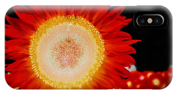 Brighter Than The Sun Flower IPhone Case