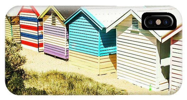 Victoria iPhone Case - Brighton Beach, Melbourne by Jorgo Photography - Wall Art Gallery