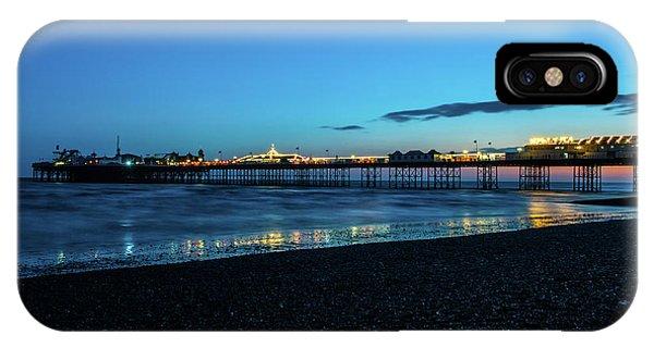 Brighton Pier At Sunset Ix IPhone Case