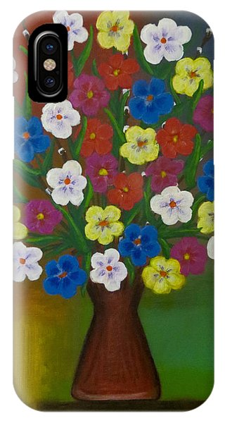 Brilliant Bouquet IPhone Case