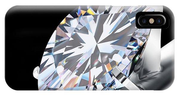 Wedding Gift iPhone Case - Brilliant Cut Diamond by Setsiri Silapasuwanchai