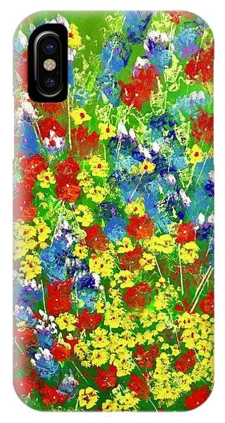 Brilliant Florals IPhone Case
