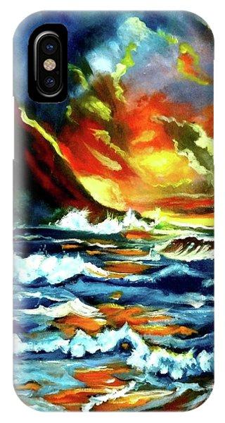 Brilliant Hawaiian Sunset IPhone Case
