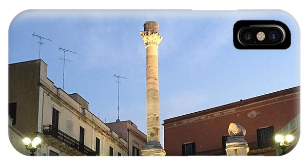Brindisi Colonne Appian Way 2 IPhone Case