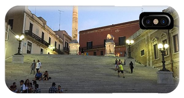 Brindisi Colonne Appian Way IPhone Case