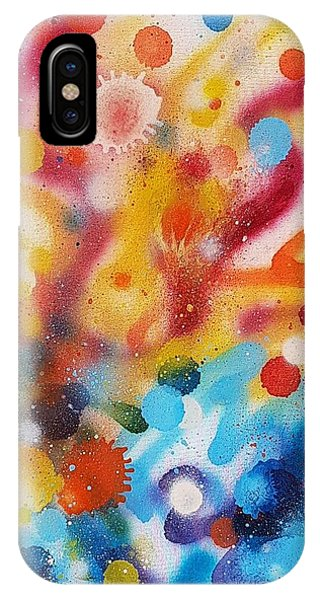 Bringing Life Spray Painting  IPhone Case